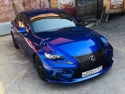 RB02 Deep Blue car