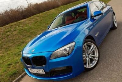 RB17 Cerulean Blue car