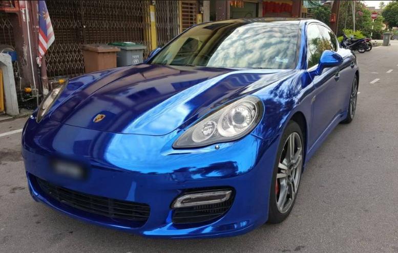 CHM08E Sapphire Blue car