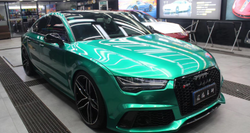 RB18 Ocean Green car