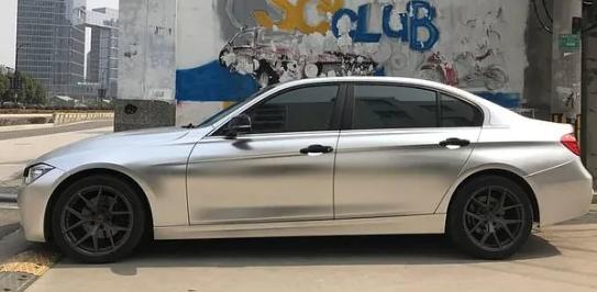 RB11 Silver Chromium Car