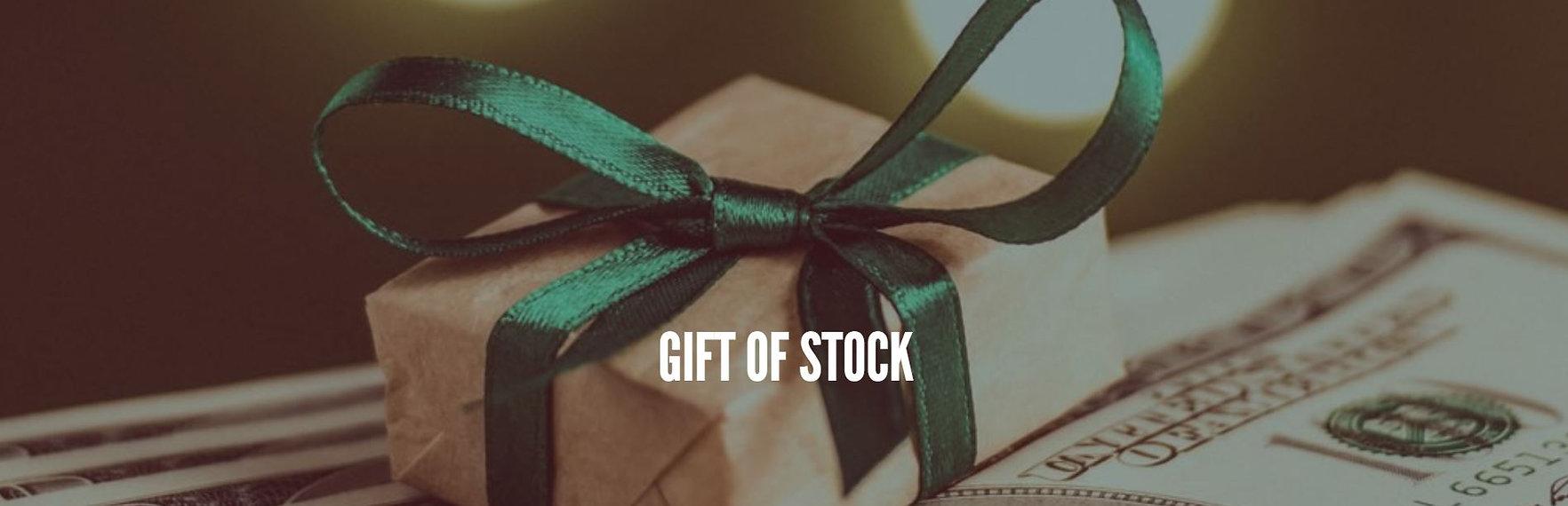 GIFT OF STOCK.JPG