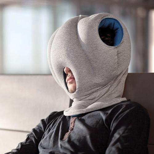 Hammacher Schlemmer's The Power Nap Head Pillow