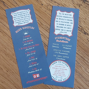 Disciple Making bookmarks