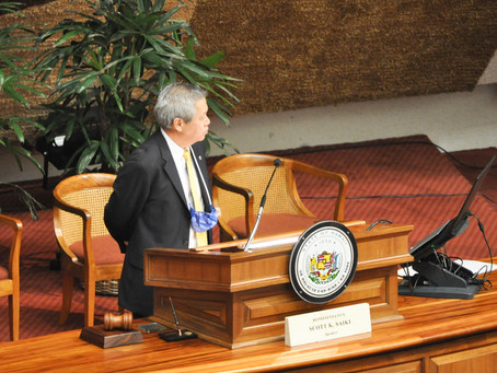 Opening Remarks by House Speaker Scott Saiki at the Reconvening of the 2020 Hawaii State Legislature