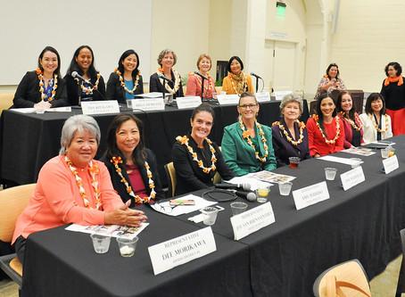 Women's Legislative Caucus Bills Sent to Governor Ige