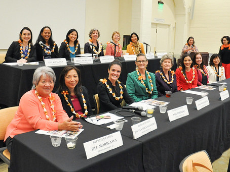 Women's Legislative Caucus Bills Sent to Governor Ige