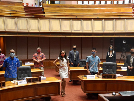 Eight New Members Join House of Representatives for Critical 2021 Legislative Session