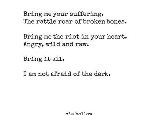 Show Me All The Scars You Hide