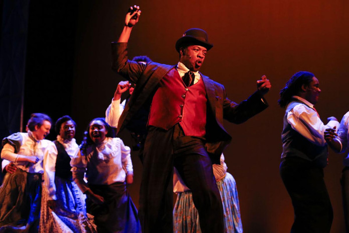 Michael Andreaus in RAGTIME.