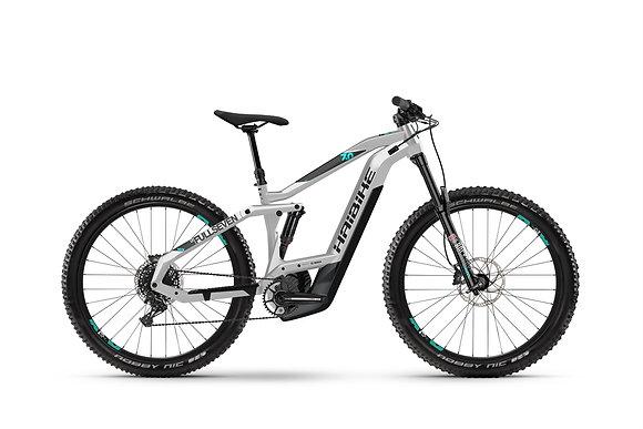 """Haibike Sduro FullSeven LT 7.0  27,5"""", sølv/grønn, BCXP i625Wh"""