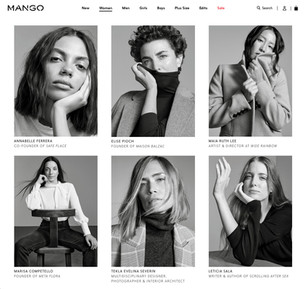 Alexandra Nataf + Mango