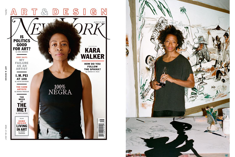 Ari Marcopolous + Kara Walker