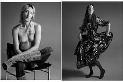 Vanina Sorrenti + Violet Mag