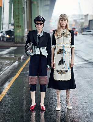 Nathaniel Goldberg + Vogue China
