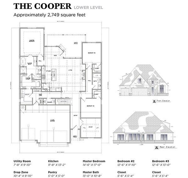 Chris Burton Homes Floor Plans