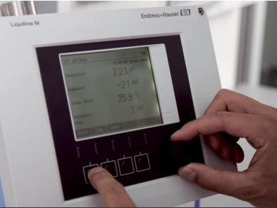 Transmisor multiparametrico para el análisis de líquidos.