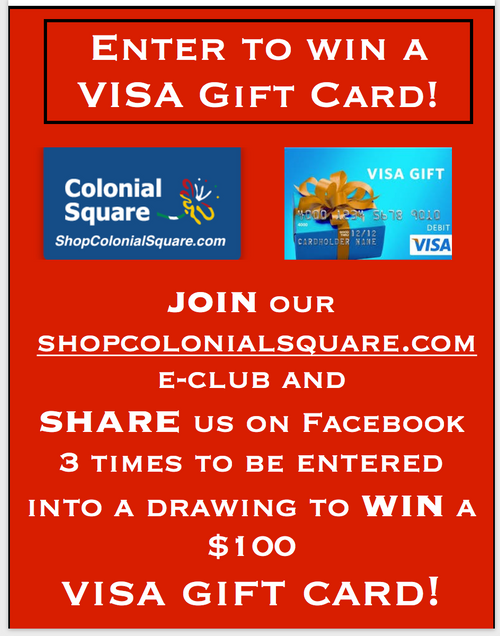 ENTER TO WIN A VISA GIFT CARD!!!!!