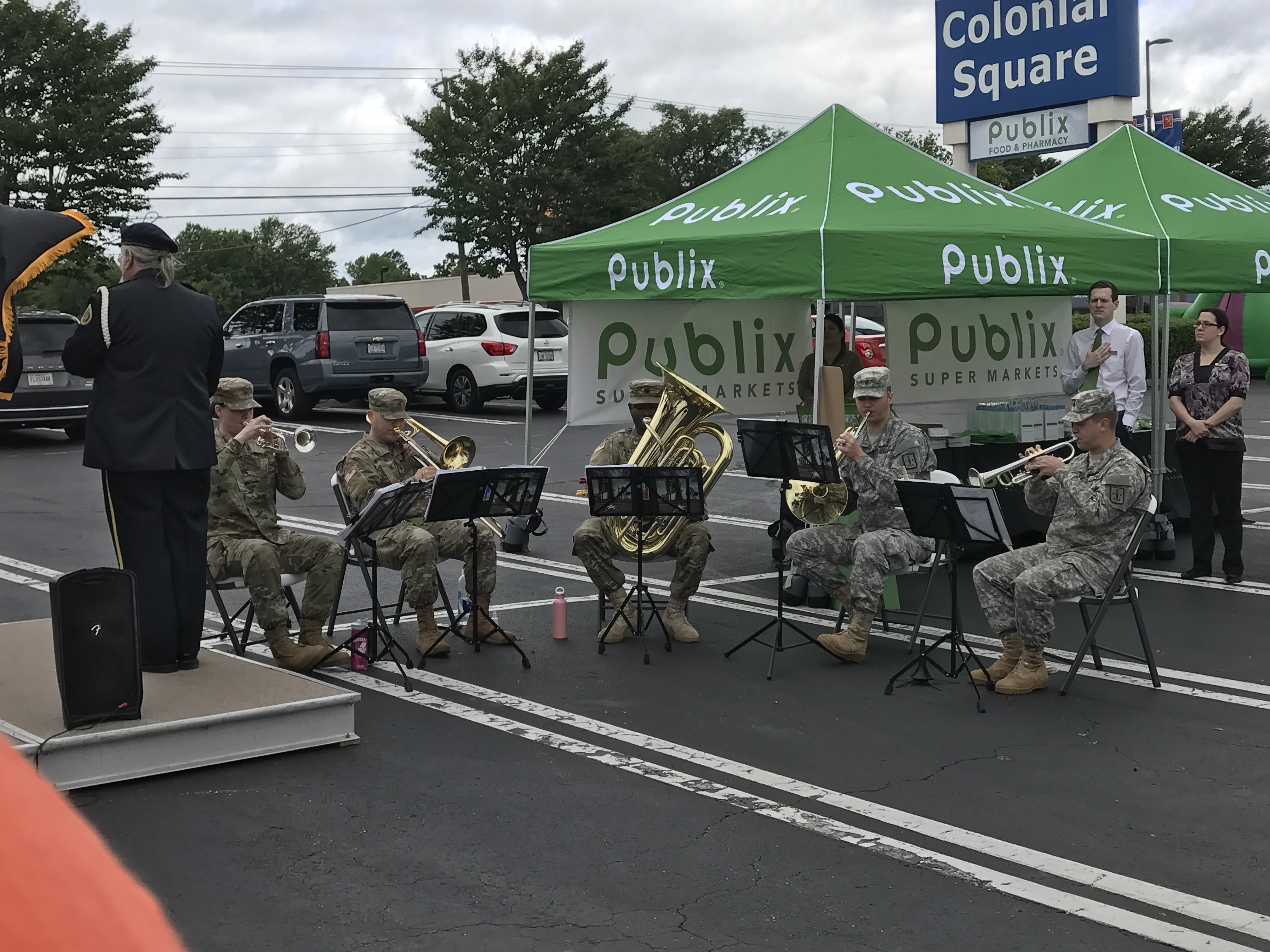 Army Brass Performs