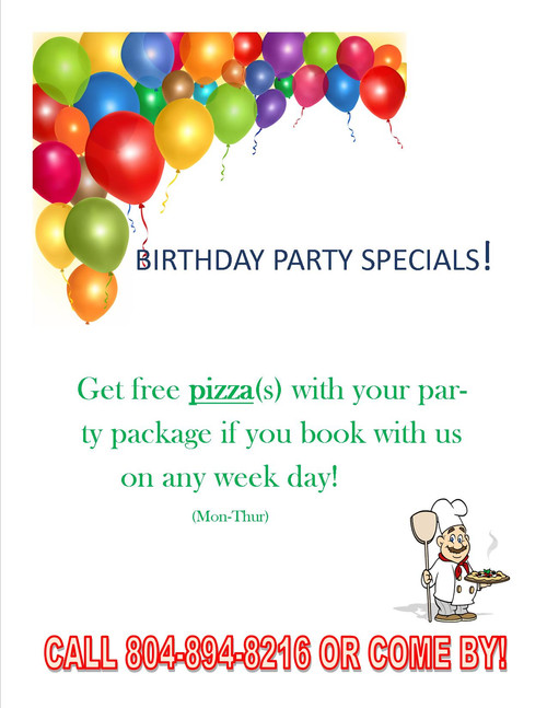 Birthday Party Specials at MP Bounce With Me!