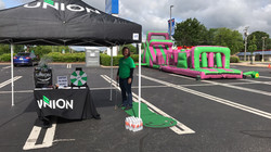 Union Bank - Spin and win or make a hole in one and win!