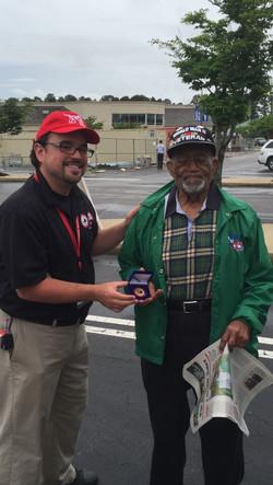 99 year old veteran