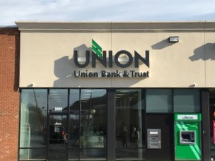 NOW OPEN - UNION BANK & TRUST!!