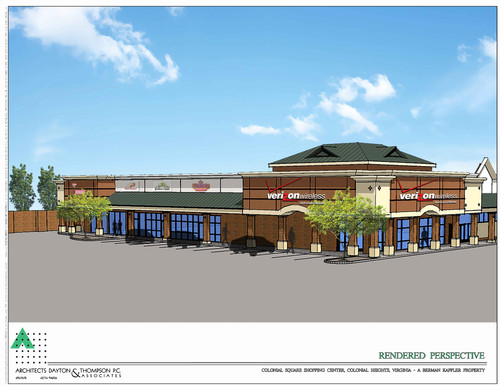 Rendering of Changes coming to Colonial Square!