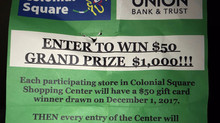 AND THE $1,000 WINNER IS...