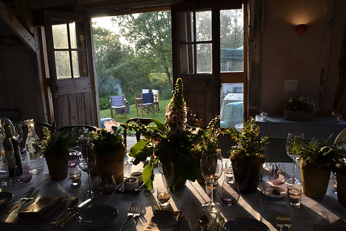 'Game-On' - Pop Up Restaurant Night at Knepp Estate with Jacqueline Wise