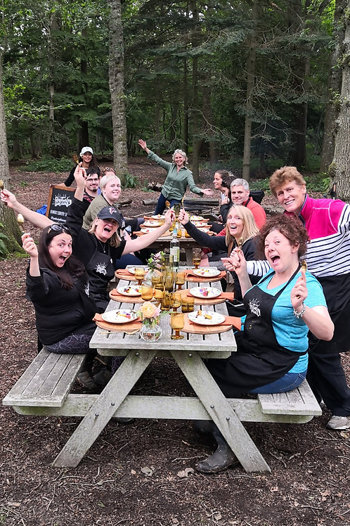 Connection Through Cookery: Pasta-Making, Cocktails, Meditation & Wild Swimming