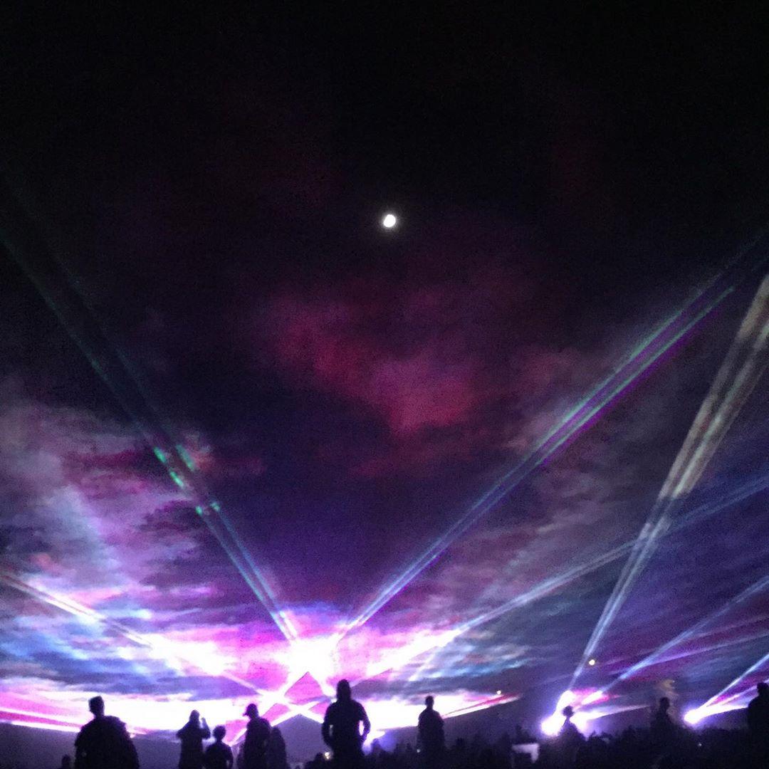 Agoura Hills Civic Laser Show (1)