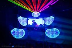 Laser show Higher Ground Burlington, VT.