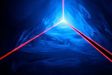 KFC Yum! Center Louisville, KY Special Effects laser light show