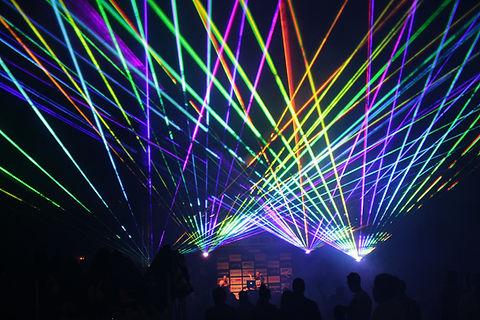 Speical Event Laser Light Show at Concert