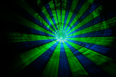 Sacremento California laser light show