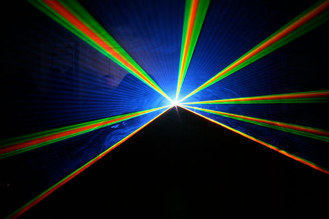 Fashion Week Special Event Laser Display