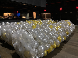balloons ready for big balloon drop NYC.
