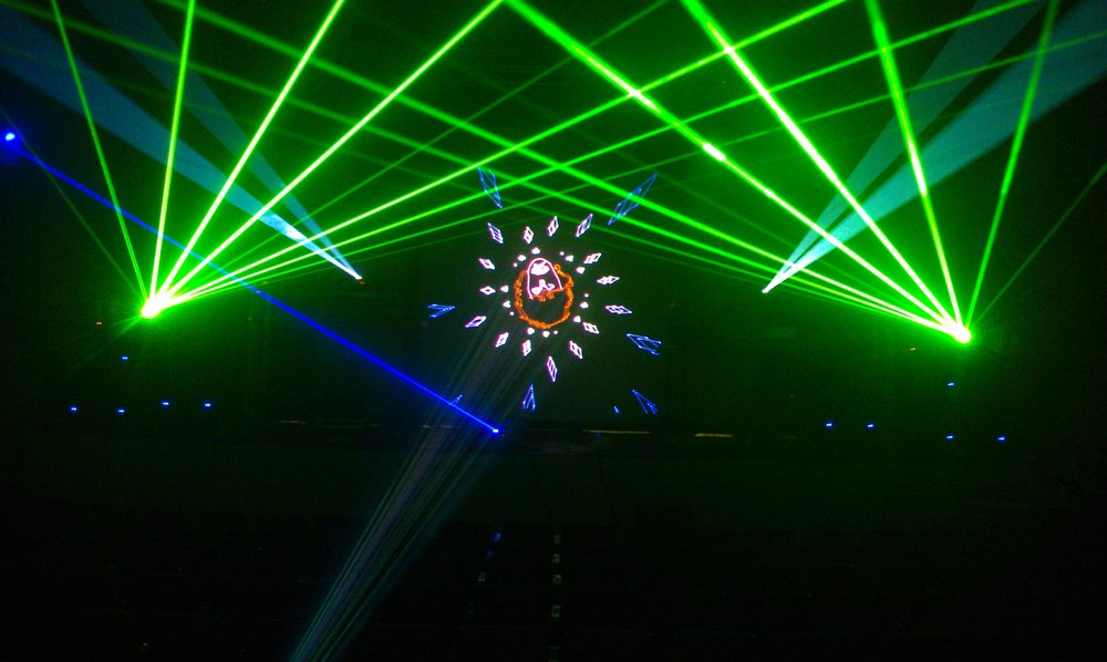 Frong pond Boston - Laser Show