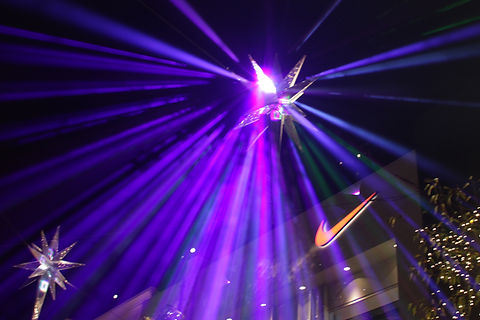 Creative Corperate Conference with laser effects in LA