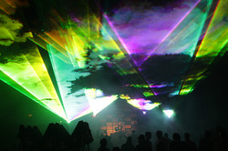 Outdoor Special Event Laser Lights Civic