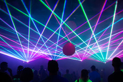 Private Party Laser Light Show For Speci