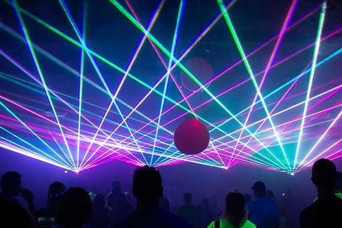Las Vegas Laser Light Show For Special event
