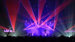 Vermont laser show Burlington