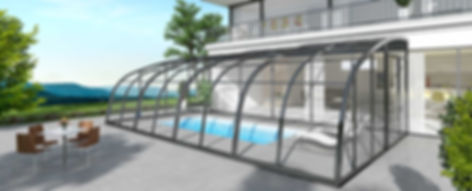 Creative Poolüberdachung - aquacomet