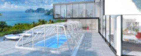 Practic Poolüberdachung - aquacomet