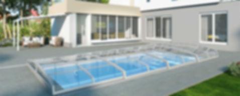Visual -Poolübedachung - aquacomet