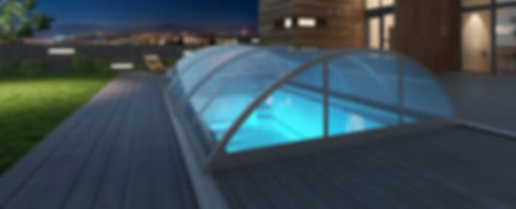 Sky und Sun - Poolüberdachung -aquacomet
