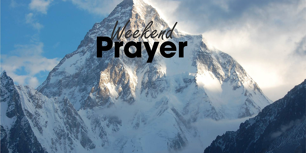 Weekend Prayer
