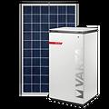 Solarmodul und VARTA Stromspeicher